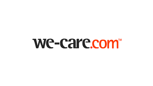 We-Care.com brand identity development example