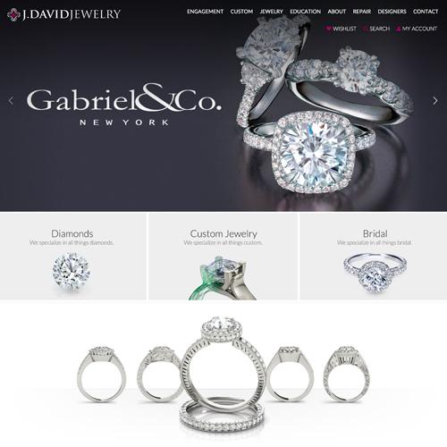 Punchmark Jewelry Website Design Websites For Jewelers