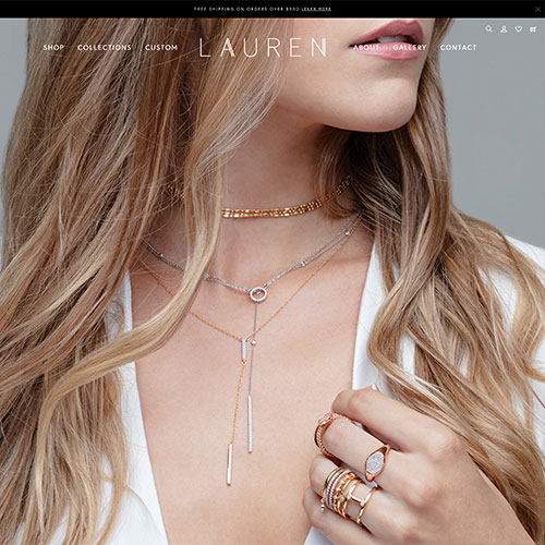 Lauren's Fine Jewelry custom example